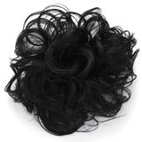 Synthetic Messy Hair Bun Extension Chignon Hair Piece Wig