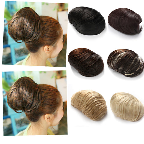 Synthetic Big Hair Bun Ponytail Extension Chignon Hair Piece Wig