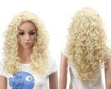 Fashion Long Hair Natural Curly Wavy Full Head Wigs Cosplay Costume Party Hairpiece