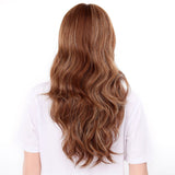 "24"" Full Head Curly Kanekalon Premium Synthetic Lace Hair Wig"