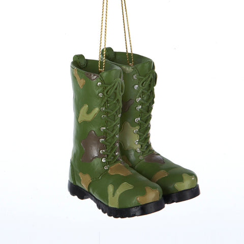 Resin Fatigue Boots Ornament