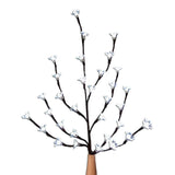 Kurt Adler Battery-Operated Plastic Cherry Blossom White LED Tree