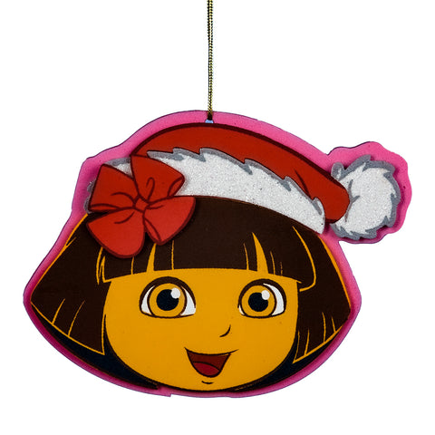 Dora The Explorer  Layered Foam Ornament