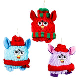 Furby Furry Christmas Ornaments (Set Of 12)