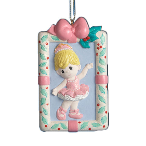 Kurt Adler Precious Moments Ballerina Girl Ornament