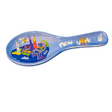 NYC Icons Souvenir Ceramic Spoon Rest (Set Of 6)
