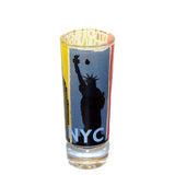 NYC 3 Icons Souvenir Shot Glass (Set Of 12)