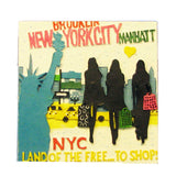 NYC Magnet With Shopping Design (Set of 12)