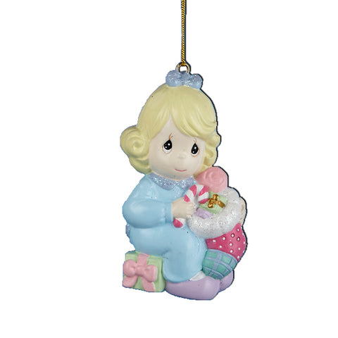 Kurt Adler Precious Moments Girl Ornament