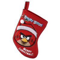 Angry Birds  Miniature Red Bird Stocking