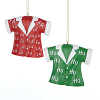 T-Shirt Christmas Ornaments  (Set Of 12)