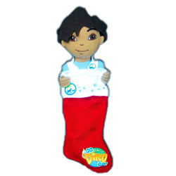 Diego Plush Head Stocking