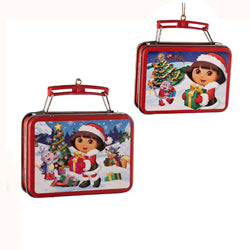 Dora The Explorer  Mini Lunch Box Ornaments (Set Of 24)