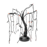 Kurt Adler B/O 48/L LED SPIDER BLACK/PURPLE TREE