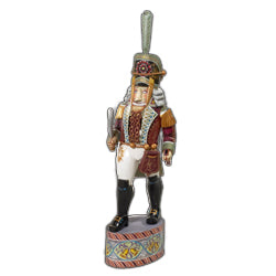 16-Inch Hand Carved Russian Nutcracker Soldier