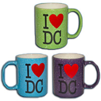 I Love DC Red Heart Souvenir Mugs (Set Of 6)