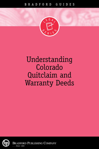 Warranty Deeds – Bradford Publishing