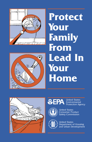 Protect Your Family from Lead in Your Home (English) (Pamphlet)