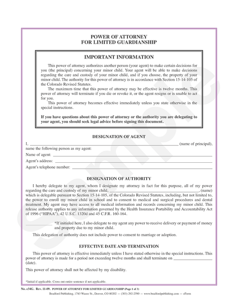 Guideline to power of attorney for limited guardianship bradford guideline to power of attorney for limited guardianship bradford publishing solutioingenieria Image collections