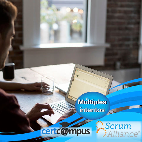 Simulador SCRUM Developer Online en CertCampus. Múltiples Intentos