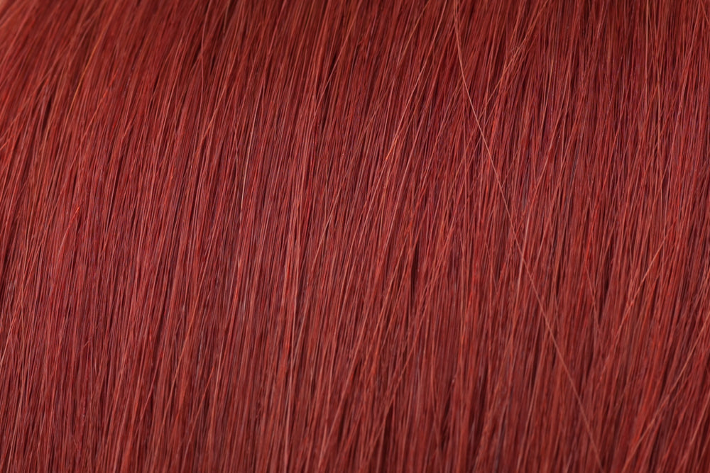 Invisible Tape Extensions: Deep Auburn #135