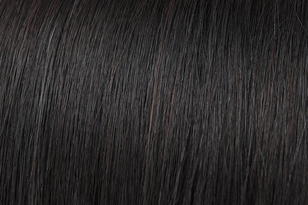 Natural Black Hair (#1B)