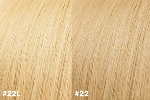 Clearance Item (20% off): #22L Clip-In Weft Extensions