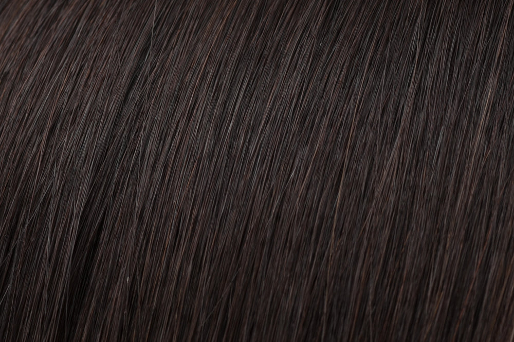 Clip In Bang: Darkest Brown #2