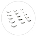 Synthetic Mink Bulk Lash (2-Lash Fan): D Curl