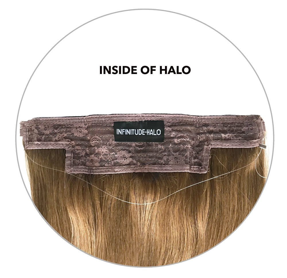 Halo Hair Extension: Beige Blonde #16