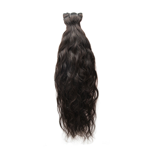 Clearance Item (20% off): Natural Wave Weft Extensions