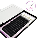Synthetic Mink Lashes: J-Curl