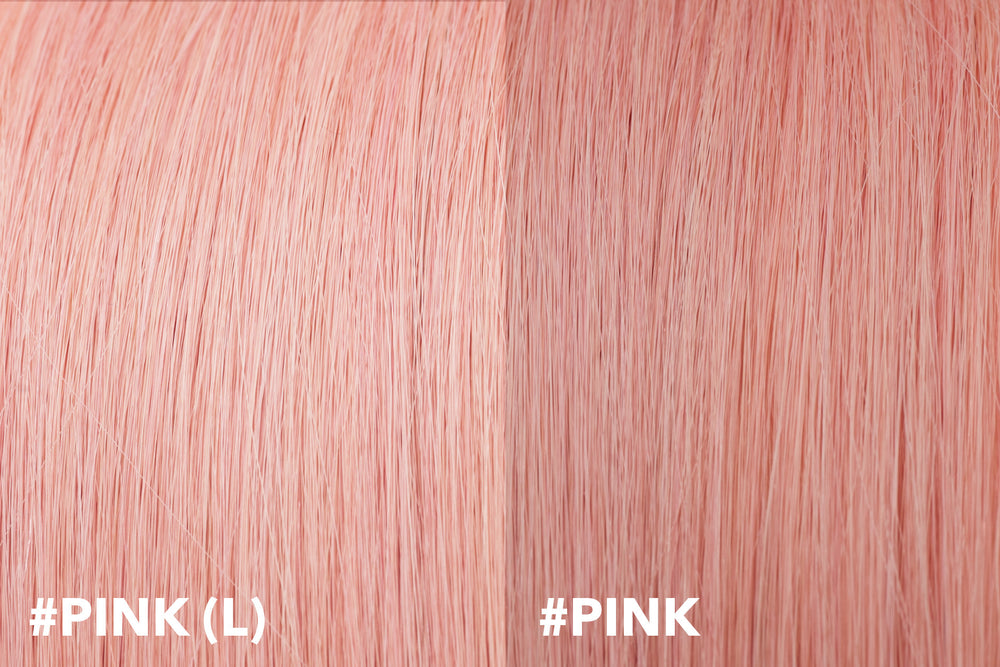 Clearance Item (20% off): #Pink(L) I-Tip Extensions