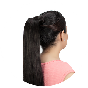 Ponytail Extension: Warm Lightest Blonde #613