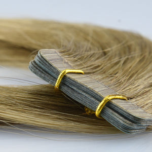 Tape In Extensions: Lightest Brown #8