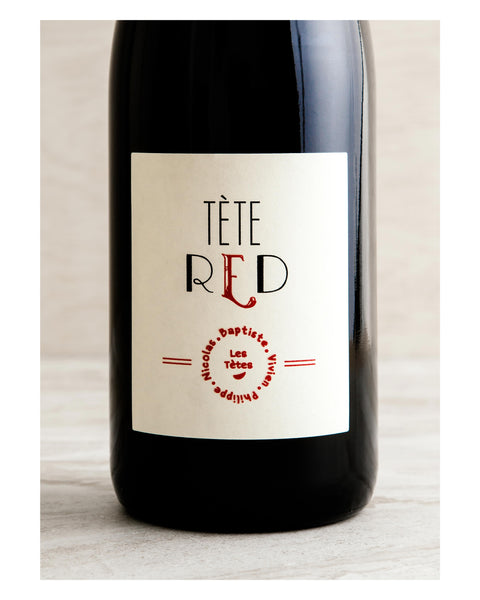 Les Tetes Téte Red Vin de France 2015