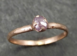 Dainty Fancy cut pink Diamond Solitaire Engagement 14k Rose Gold Wedding Ring Diamond Ring byAngeline 0681