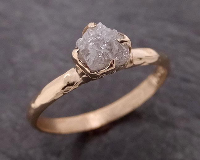Raw Diamond Rose gold Engagement Ring Rough Gold Wedding Ring diamond Wedding Ring Rough Diamond Ring byAngeline 0363