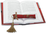 Elegant Bookworm - Weighted Bookmark