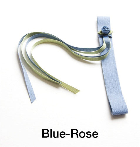 Elastic Four-Ribbon Hardcover Book Bookmarks