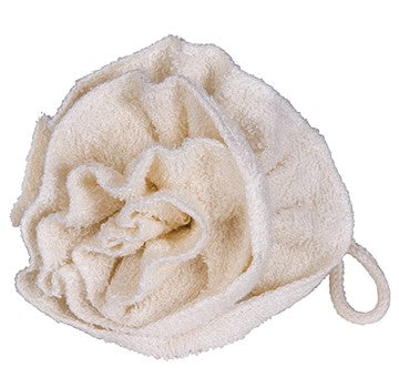 Bamboo Body Flower Scrubbie