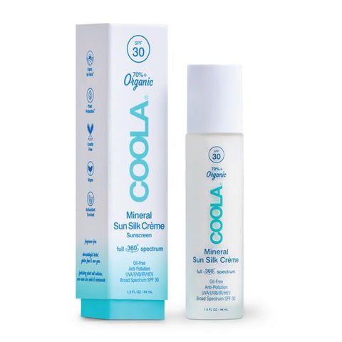 Coola Full Spectrum 360° Mineral Sun Silk Creme Organic Face Sunscreen SPF 30