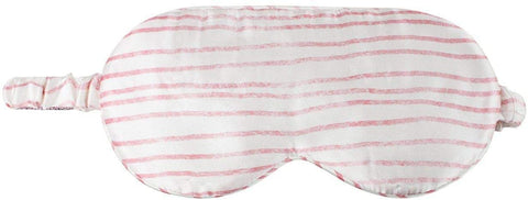 Kitsch 100% Mulberry Silk Sleep Mask - Pink Stripe