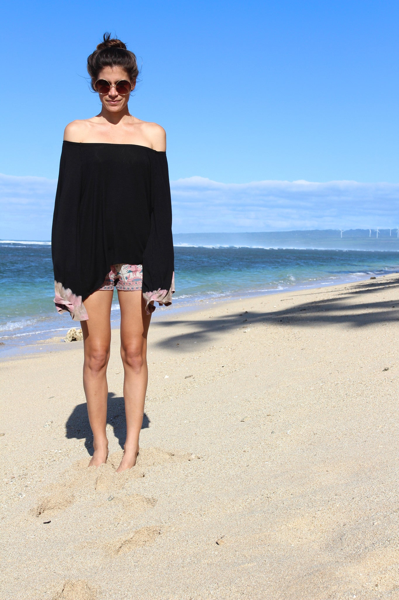 Waterfall Tunic in Pink Sands || Blue Life