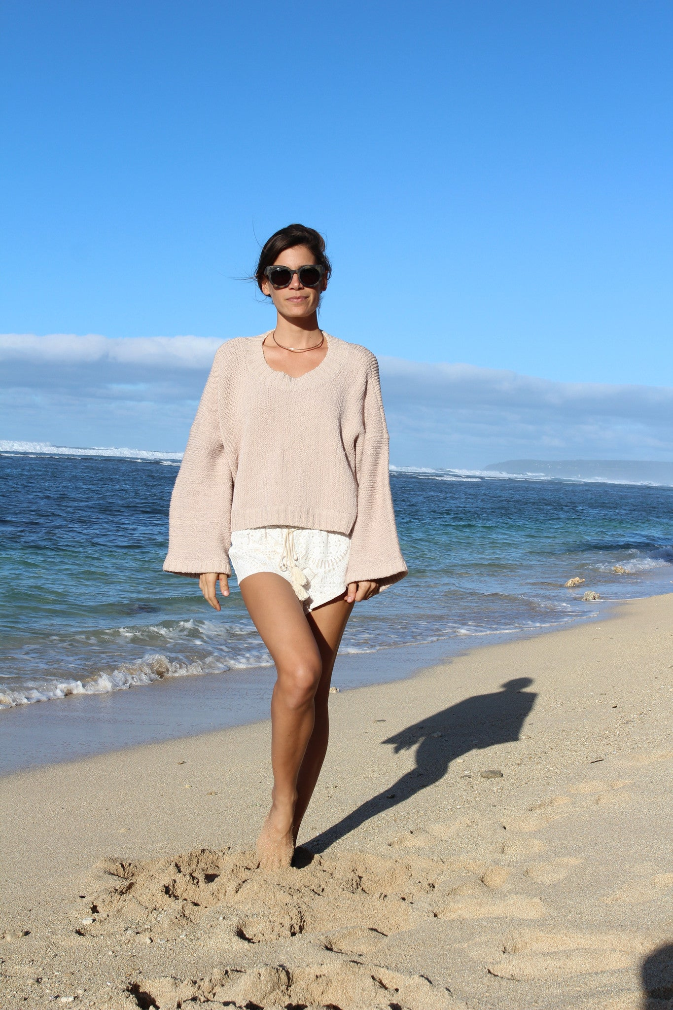 Alta Hand Knit Luxury Sweater || Indah