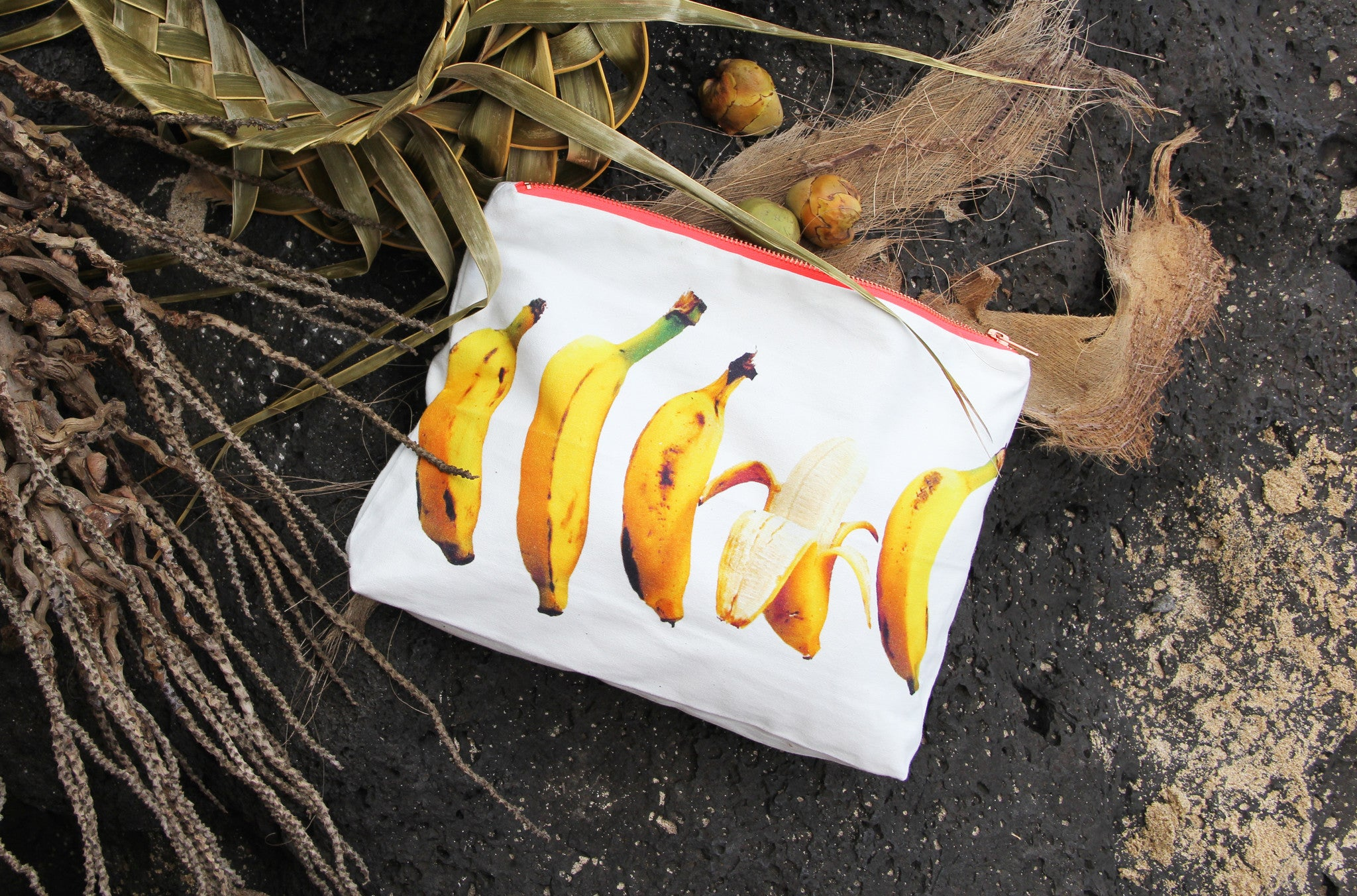 "Palme The Label X Samudra ""NAUGHTY BANANA"" Limited Edition Pouch"