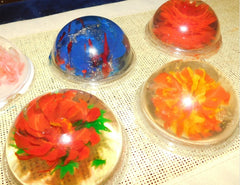 Gelatin Art made by children