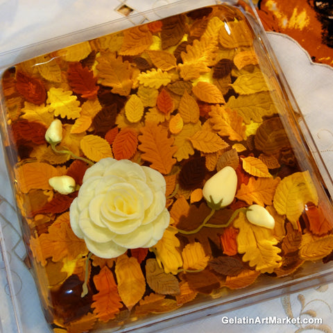 Gelatin Art Autumn