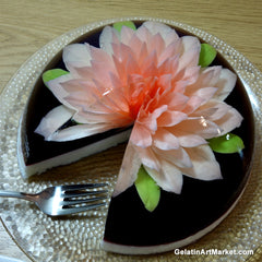 Jelly Flower Cake