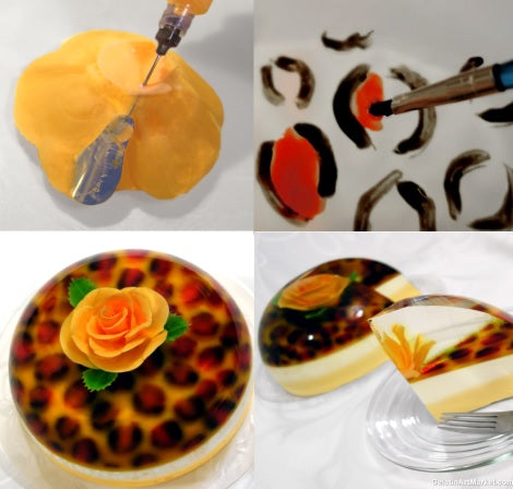 Gelatin Art Starter Kit With Tools